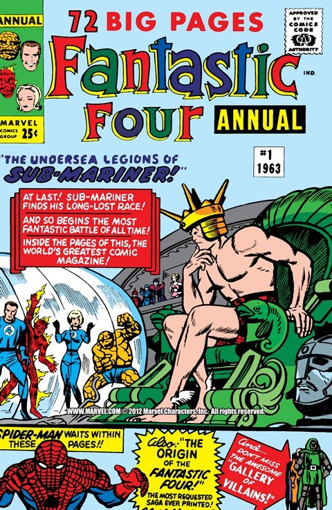 Fantastic Four – Annuals #1 – 33 (1963-2012)