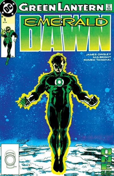 Green Lantern – Emerald Dawn I + II #1- 6 (1989-1991)