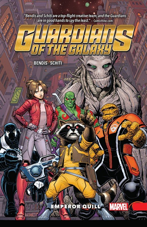 Guardians of the Galaxy – New Guard Vol. 1 – Emperor Quill