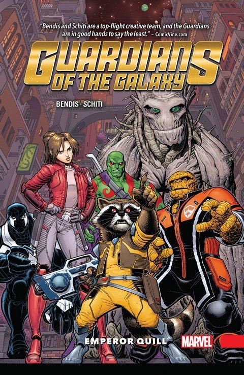 Guardians of the Galaxy – New Guard Vol. 1 – Emperor Quill