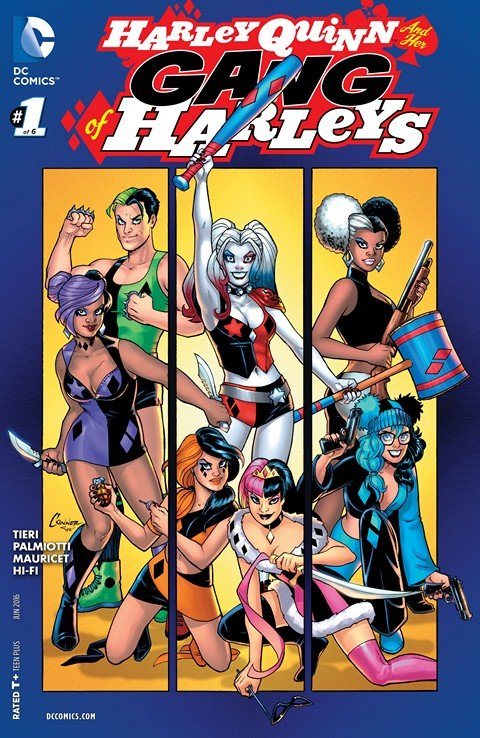 Harley Quinn & Her Gang of Harleys #1