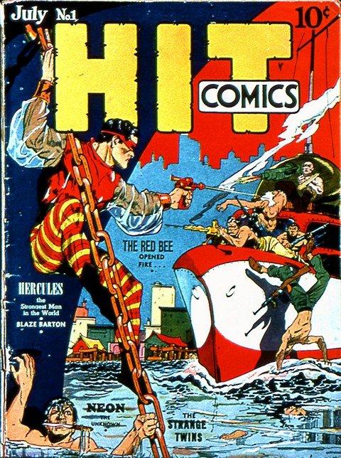 Hit Comics-Kid Eternity #1 – 64 (Quality Comics) (1940-1950)