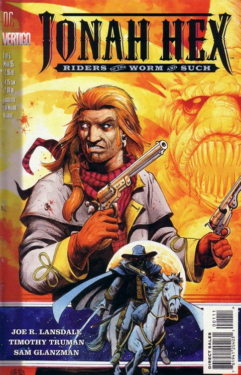 Jonah Hex – Riders of the Worm and Such #1 – 5
