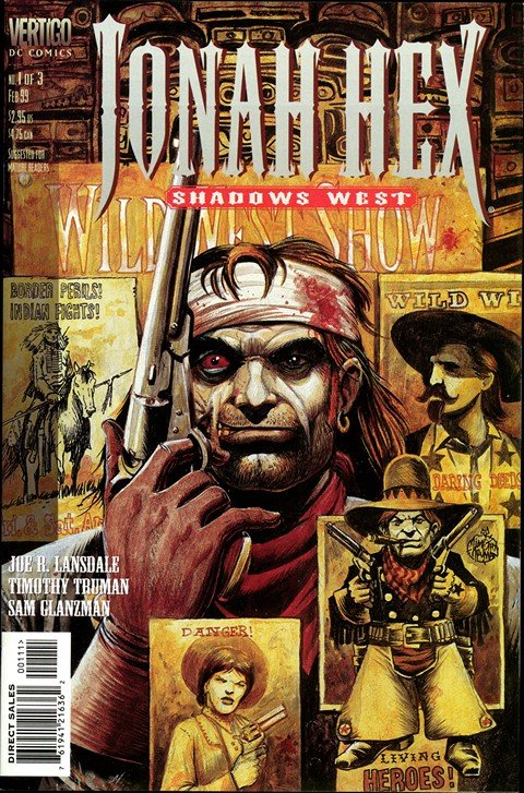 Jonah Hex – Shadows West #1 – 3