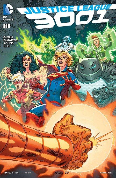 Justice League 3001 #11