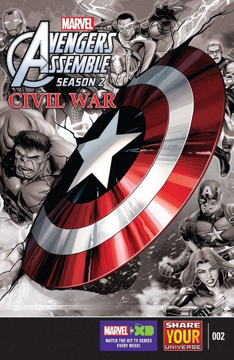 Marvel Universe Avengers Assemble – Civil War #2