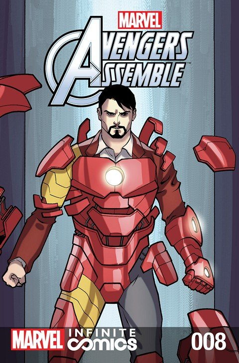 Marvel Universe Avengers Assemble Infinite Comic #8