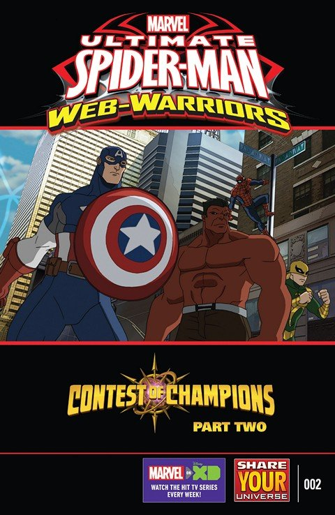 Marvel Universe Ultimate Spider-Man – Web-Warriors – Contest of Champions #2