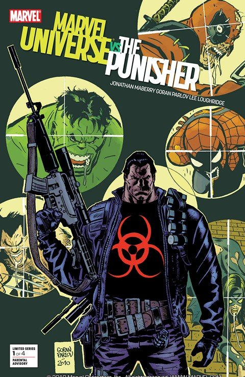 Marvel Universe vs. The Punisher #1 – 4 + TPB (2010-2011)