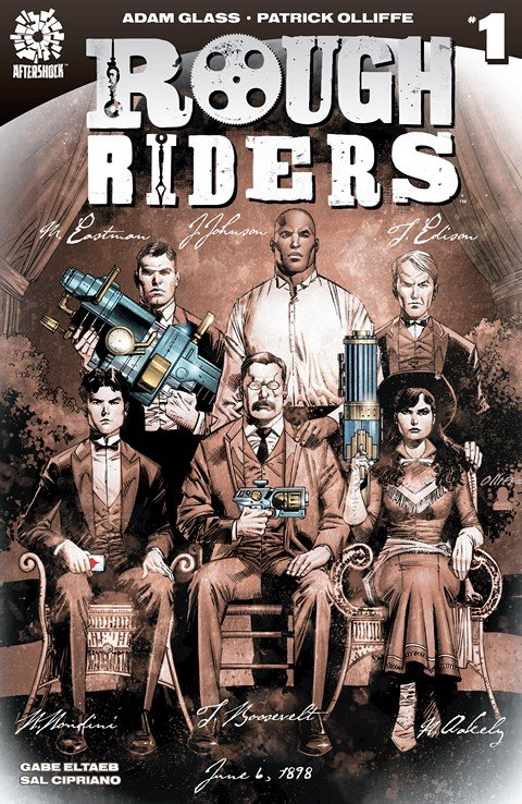 Rough Riders #1 – 7 (2016)