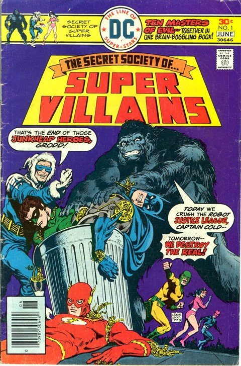 Secret Society of Super-Villains #1 – 17
