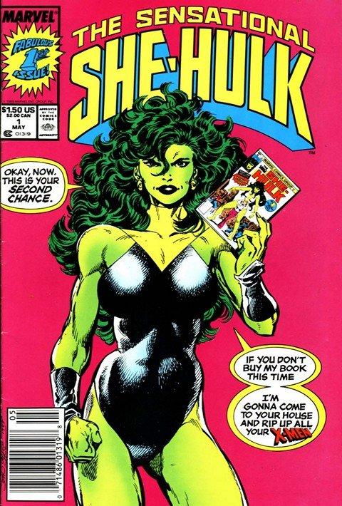 Sensational She-Hulk #1 – 60