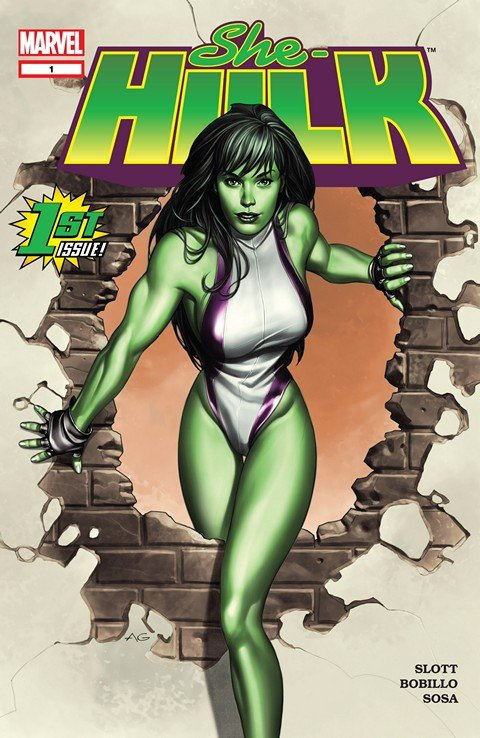 She-Hulk Vol. 1 #1 – 12