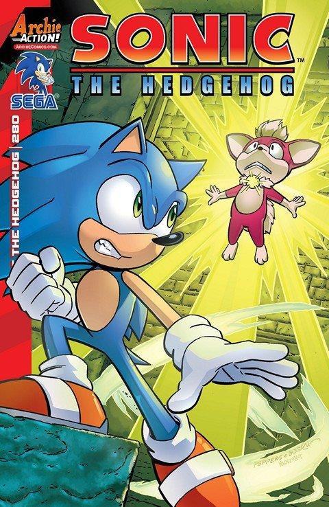 Sonic the Hedgehog #280