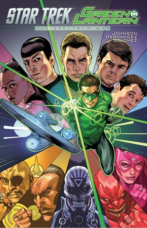 Star Trek Green Lantern The Spectrum War (TPB)