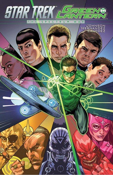 Star Trek Green Lantern The Spectrum War (TPB)