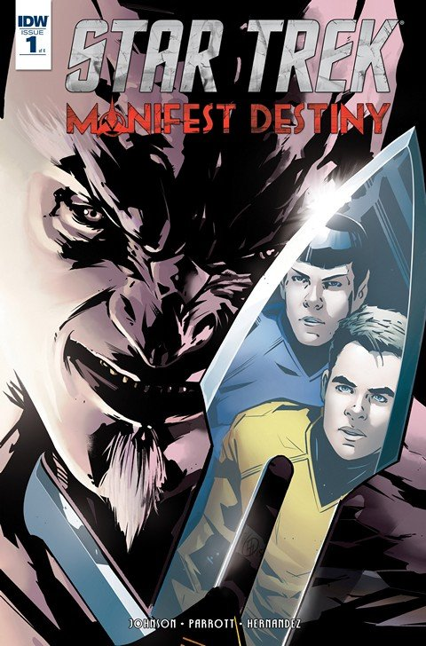 Star Trek Manifest Destiny #1