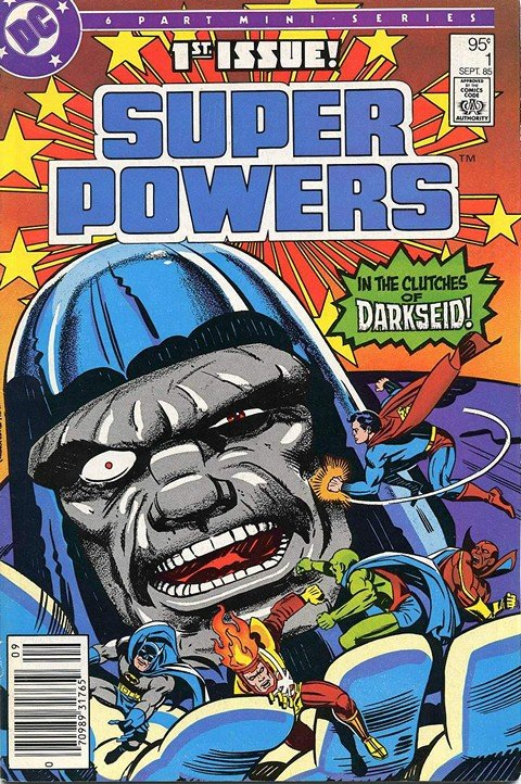 Super Powers Vol. 2 #1 – 6 (DC Comics)