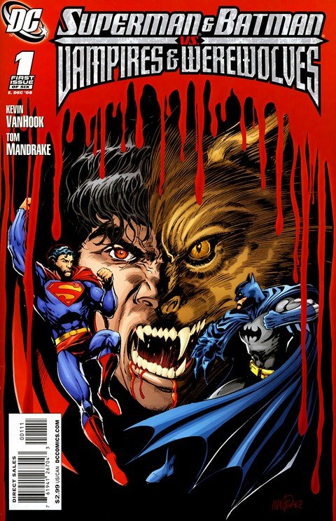 Superman and Batman vs Vampires and Werewolves #1 – 6