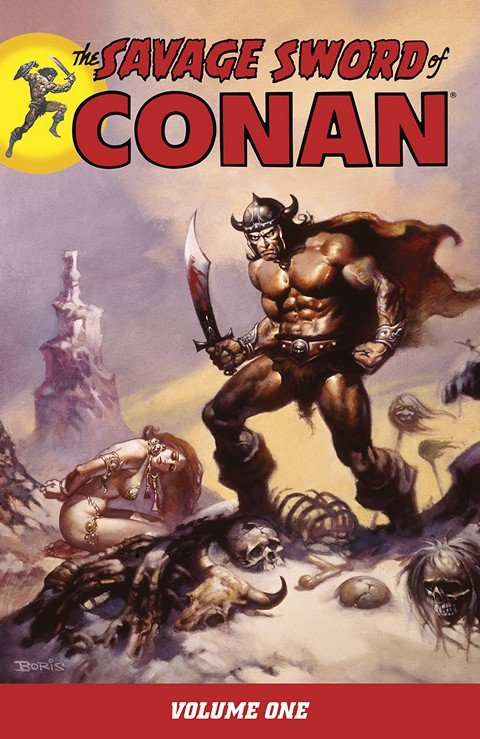 The Savage Sword of Conan Vol. 1 – 22 (2007-2016)