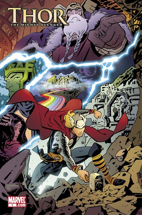 Thor the Mighty Avenger #1 – 8