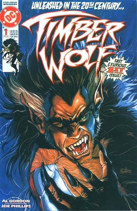 Timber Wolf Vol. 1 #1 – 5
