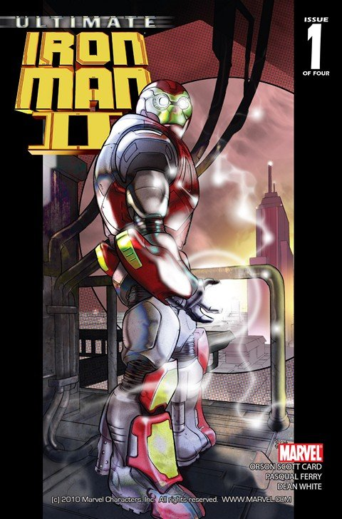 Ultimate Iron Man II #1 – 5 (2008)