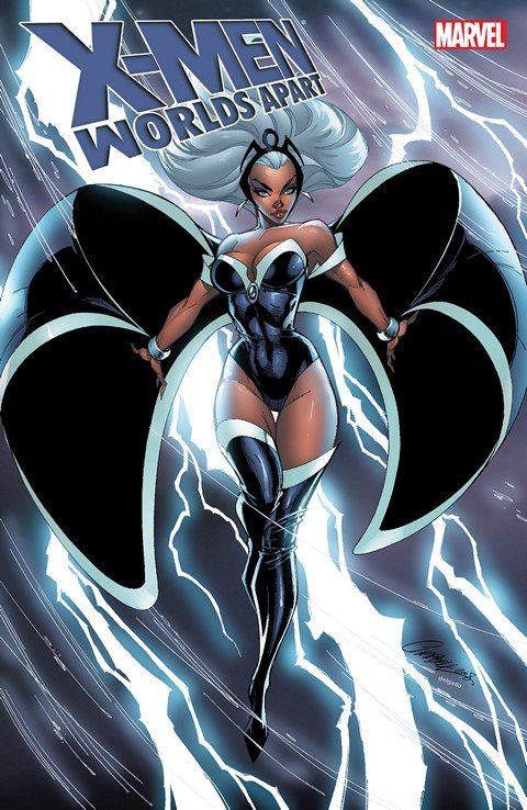 X-Men – Worlds Apart #1 – 4 + TPB