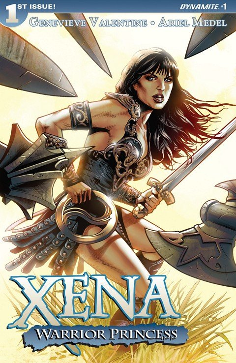 Xena Warrior Princess #1 (2016)