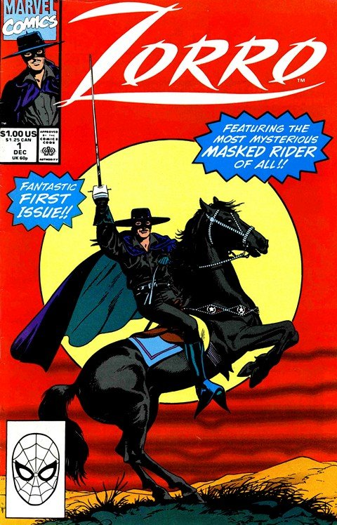 Zorro Vol. 1 #1 – 12 (Marvel)