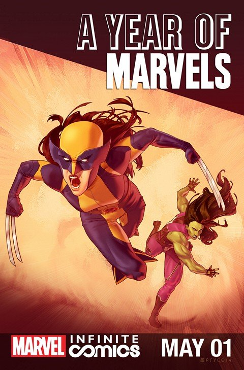 A Year of Marvels – May Infinite Comic #1