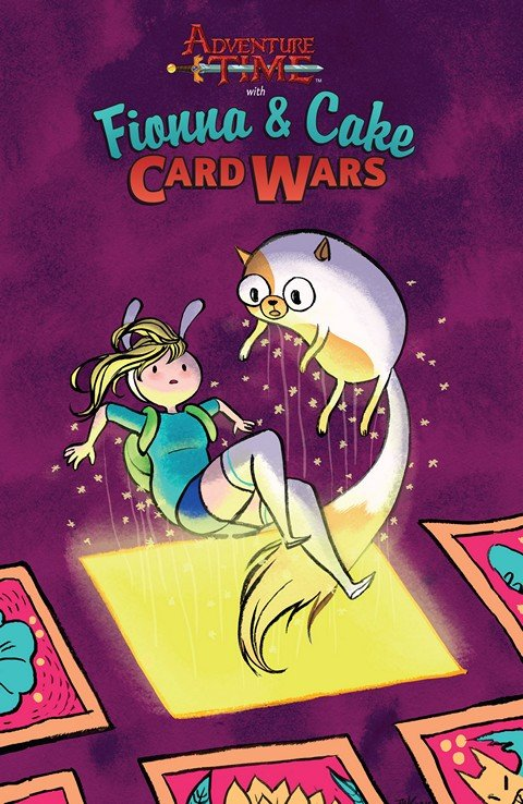 Adventure Time – Fionna & Cake Card Wars