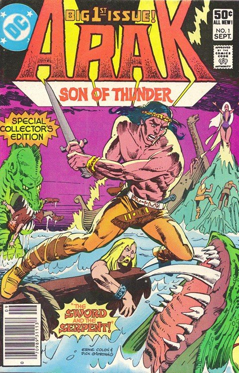 Arak, Son of Thunder #1 – 50 + Annual