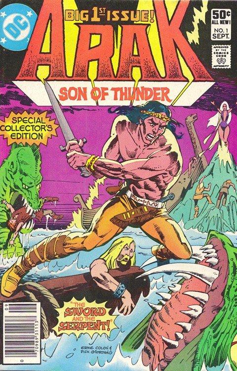 Arak, Son of Thunder #1 – 50 + Annual (1981-1985)