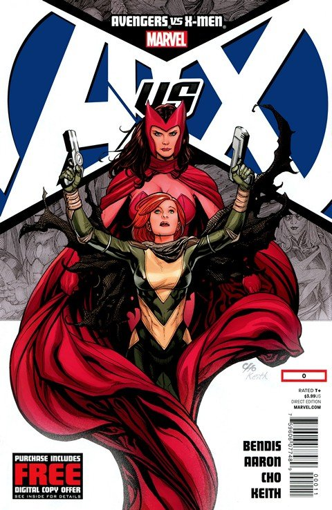 Avengers Vs. X-Men #0 – 12 + All tie-ins & Extras