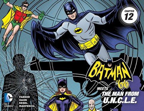 Batman '66 Meets the Man From U.N.C.L.E #1 – 12
