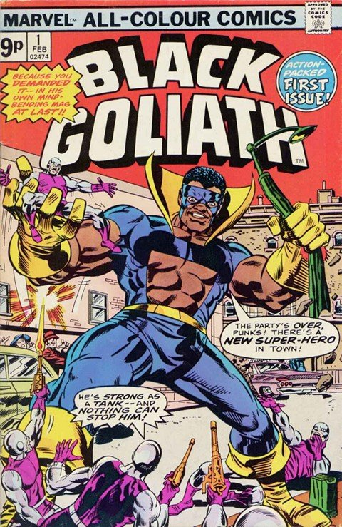 Black Goliath #1 – 5