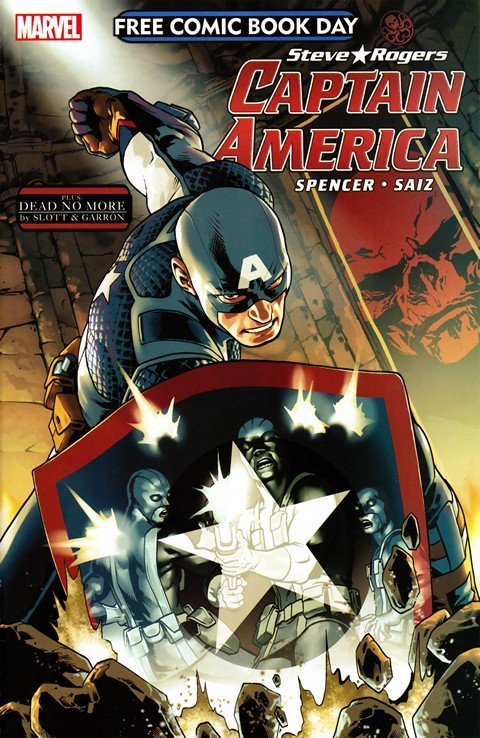 Captain America & Amazing Spider-Man – Dead No More (FCBD 2016)