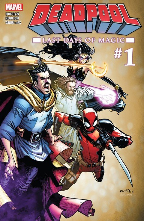 Deadpool – Last Days of Magic #1