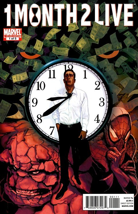 Heroic Age – One Month To Live #1 – 5 (2010)