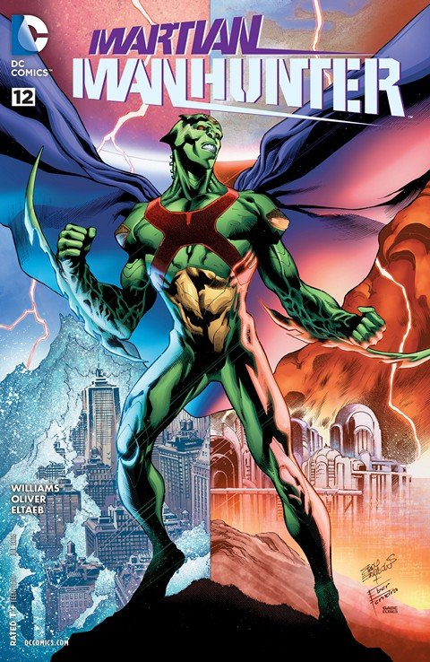 Martian Manhunter #12