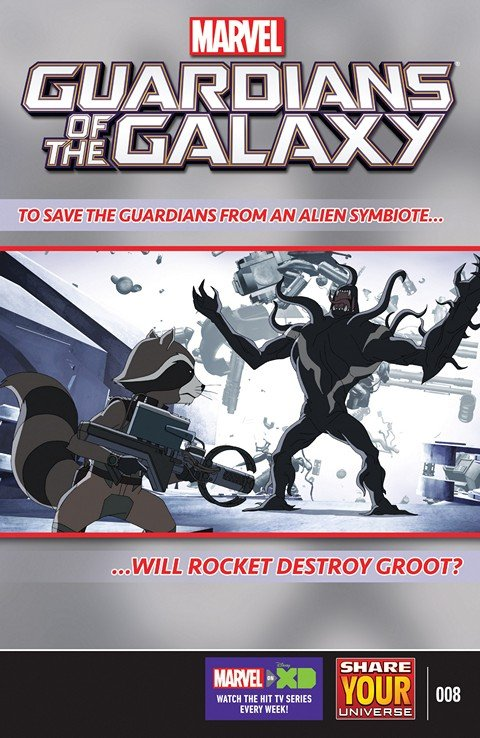 Marvel Universe Guardians of the Galaxy #8