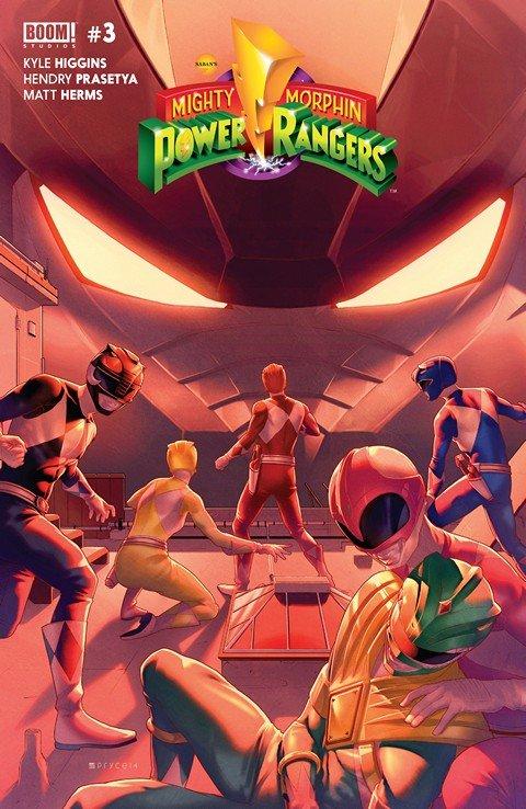 Mighty Morphin Power Rangers #3