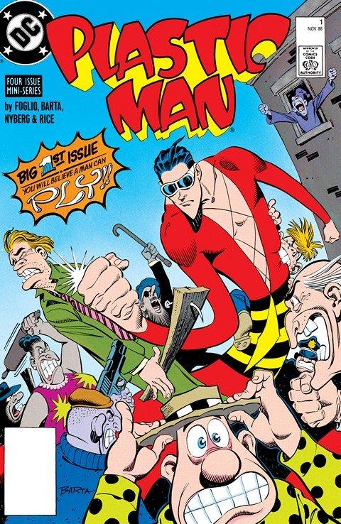 Plastic Man #1 – 4 (1988)