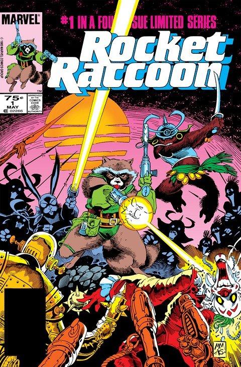 Rocket Raccoon #1 – 4