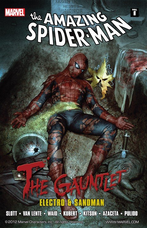 Spider-Man- The Gauntlet Vol. 1 – Electro and Sandman
