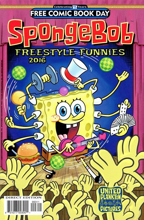 SpongeBob Freestyle Funnies (FCBD 2016)