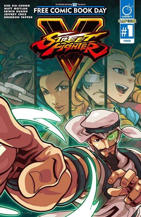 Street Fighter V #1 (FCBD 2016)