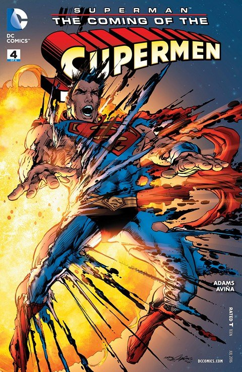 Superman – The Coming of the Supermen #4