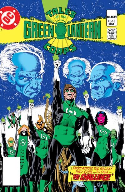 Tales Green Lantern Corps #1 – 3 (1981)